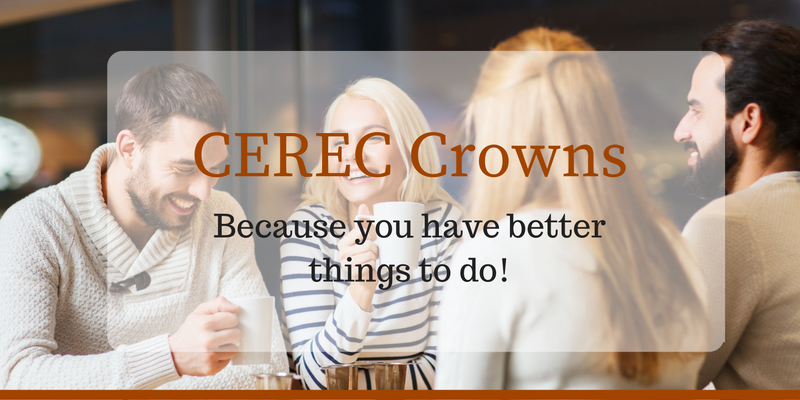 CEREC crowns by our Columbia dentist get you back to your busy life in just minutes!