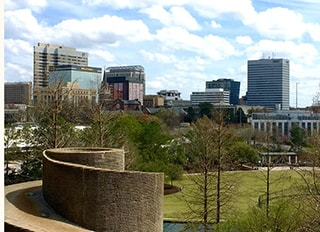 The skyline of Columbia, SC