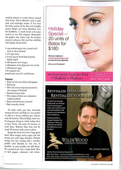 WildeWood Aesthetic Dentistry Magazine Ad Preview