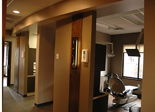 The Dental bays in WildeWood Aesthetic Dentistry