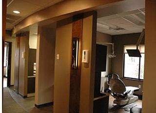 The Dental bays in WildeWood Aesthetic Dentistry