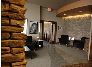 The lobby of WildeWood Aesthetic Dentistry