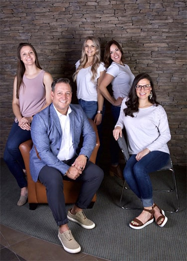 Dr. Griffin and his dental team in Columbia, SC